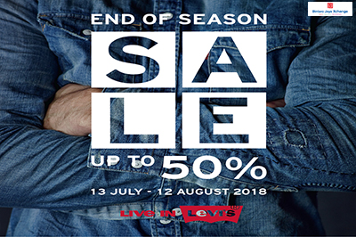 Levi's End Of Season Sale