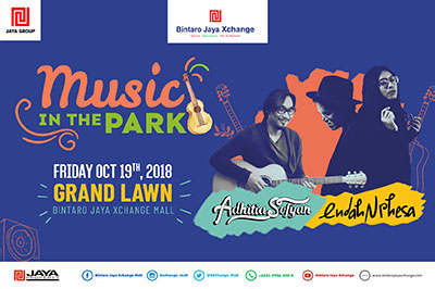 Music In The Park with Aditiya Sofyan & Endah N Rhesa