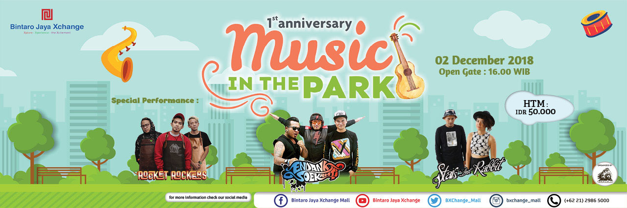 Music In The Park 1st Anniversary