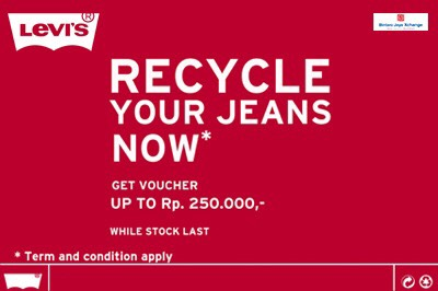Levis Voucher Up To 250K