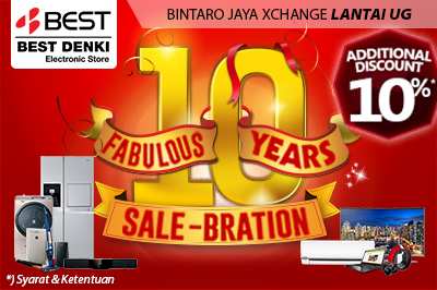 Best Denki Fabulous 10 Years Sale-Bration